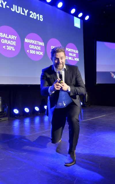 Bjørn Erik er en energisk og angasjerende foredragsholder